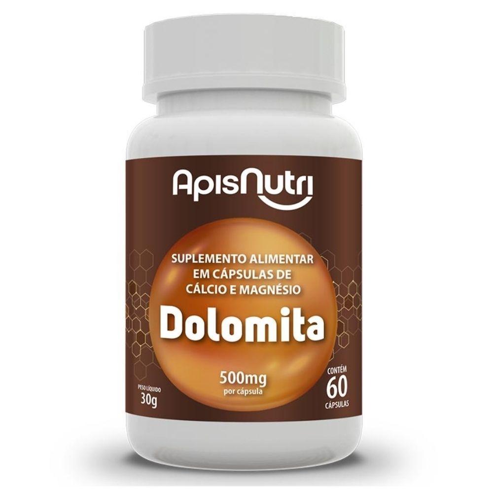 Dolomita - 60 Cápsulas - Apisnutri