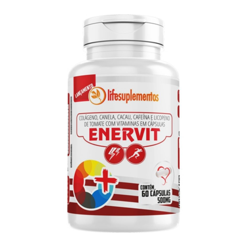 Enervit  - 60 Cápsulas - Melcoprol