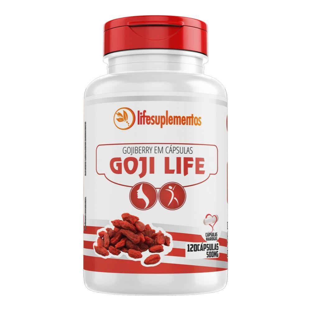 Goji Life  - Goji Berry - 120 Cápsulas - Melcoprol