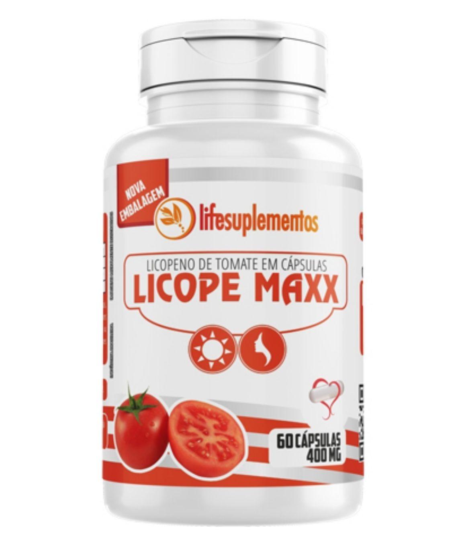 Licopeno - Licope Maxx - 60 Cápsulas - Melcoprol