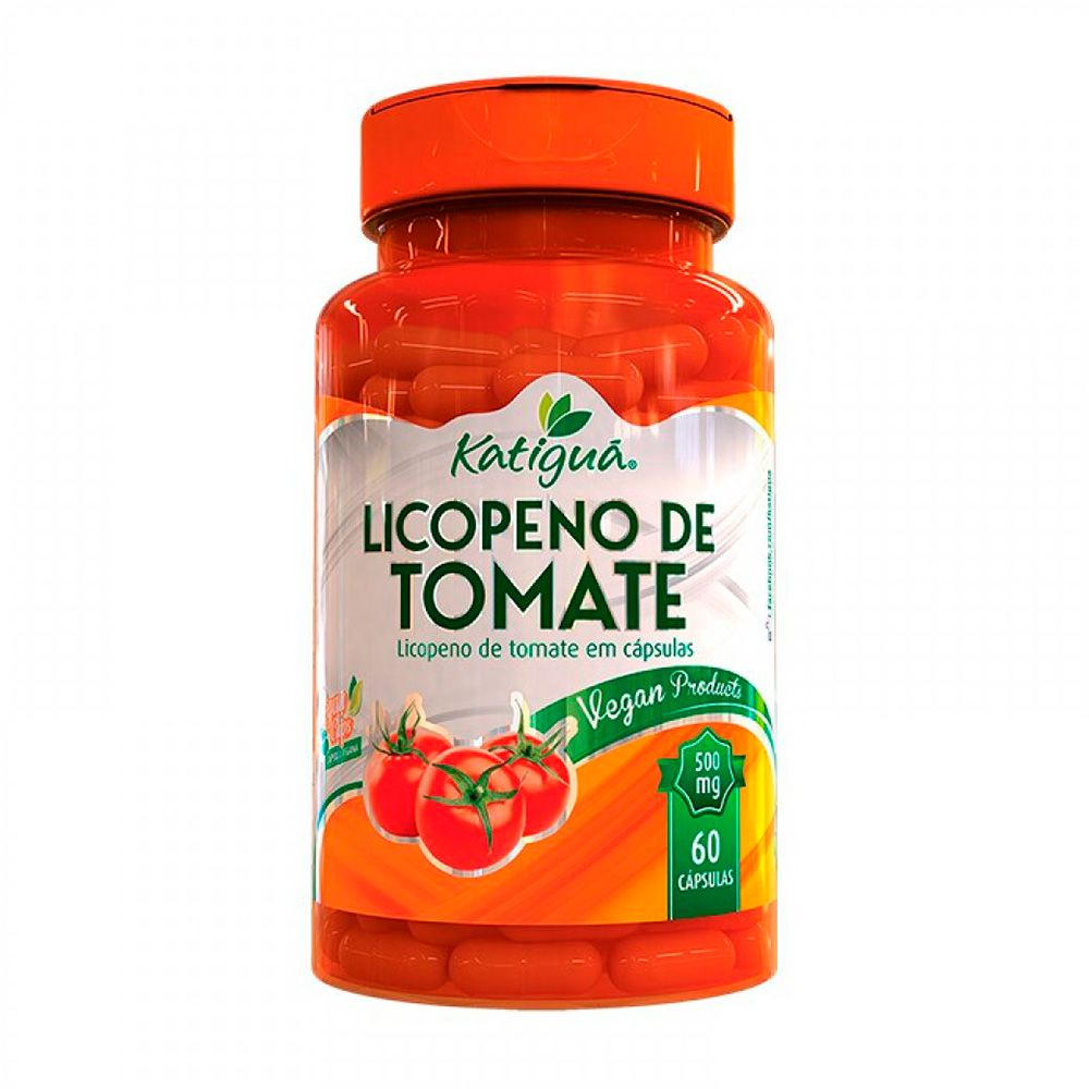 Licopeno de Tomate - 60 Cápsulas - Katiguá