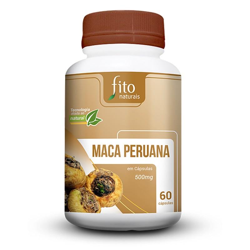 Maca Peruana - 60 Cáps. - 500mg