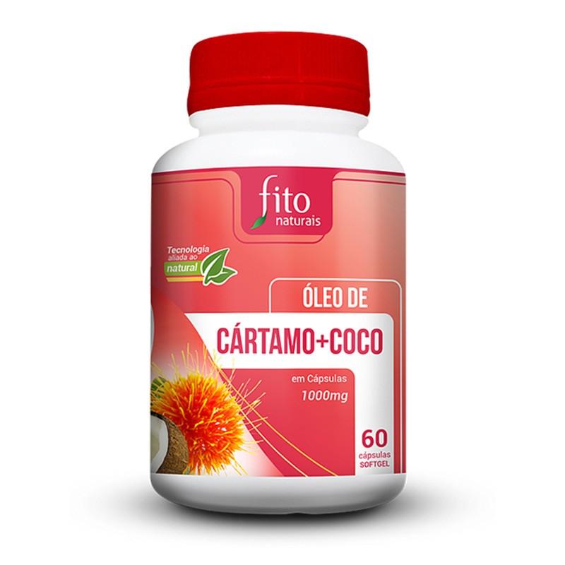 Óleo de Cártamo + Coco - 60 Cáps. - 1000mg