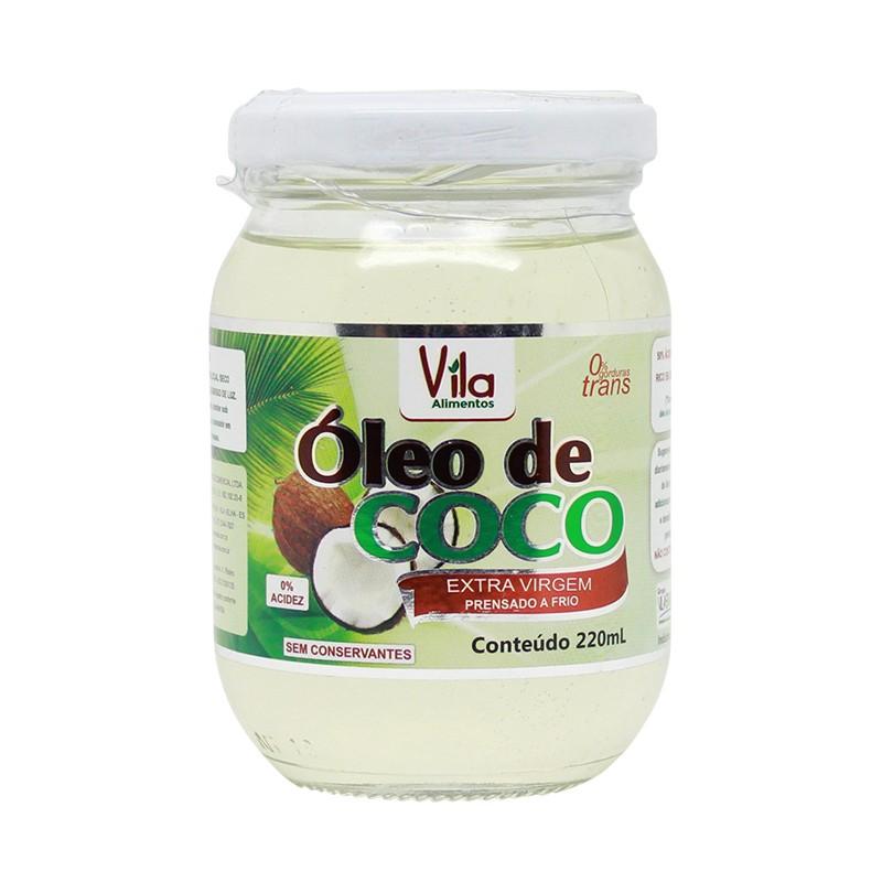 Óleo de Coco - Extra Virgem - 220ml