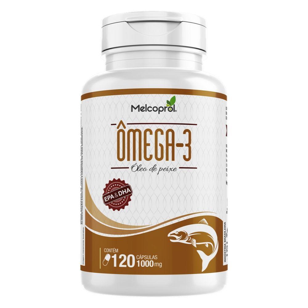 Ômega 3 - 120 Cápsulas - Melcoprol