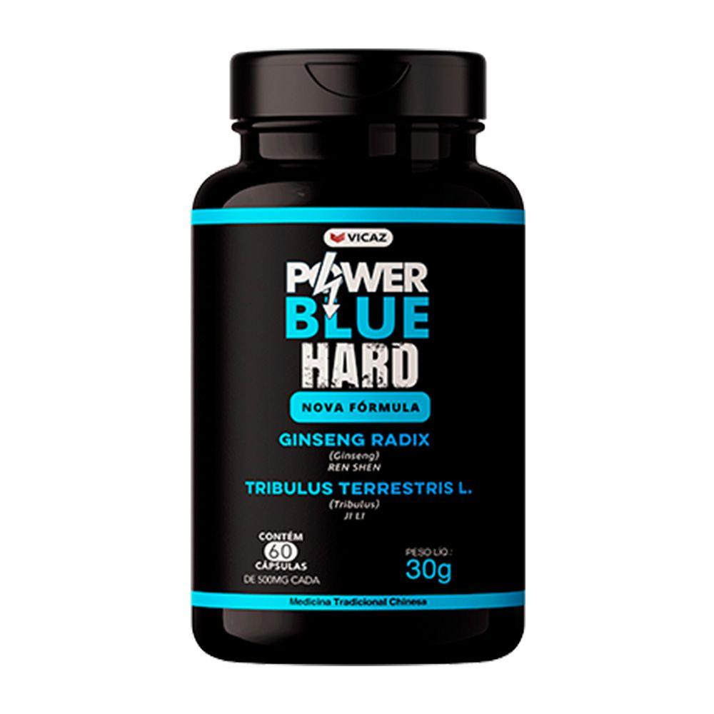 Power Blue Hard - 60 Cápsulas - VICAZ