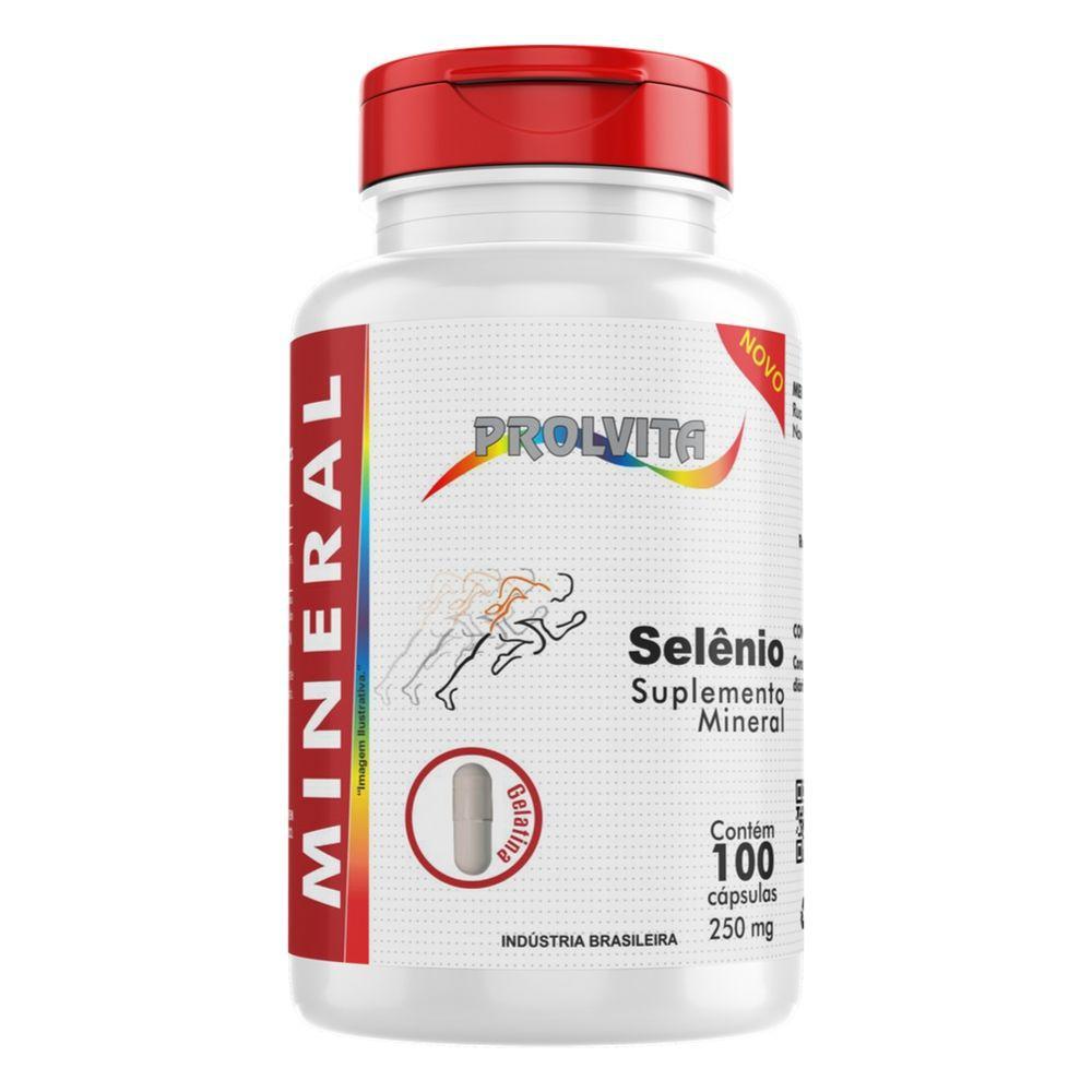 Selênio - 100 Cápsulas - Melcoprol
