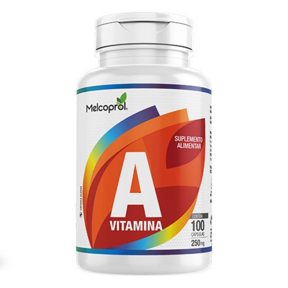 Vitamina A - 100 Cápsulas - Melcoprol