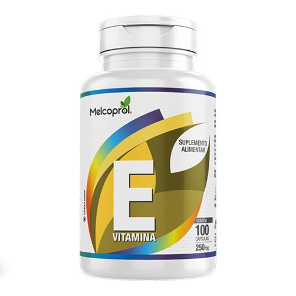 Vitamina E - 100 Cápsulas - Melcoprol