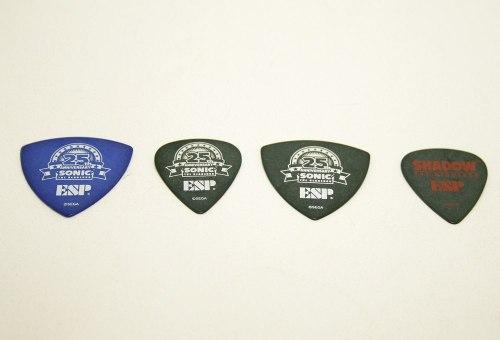 4 Palhetas De Guitarra Esp Sonic The Hedgehog Frete Grátis