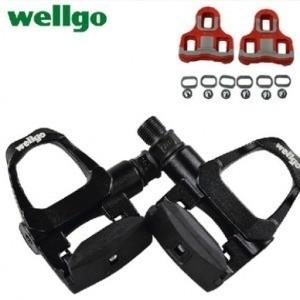 Pedal Speed Wellgo R096b Preto C/ Tacos Look Kéo