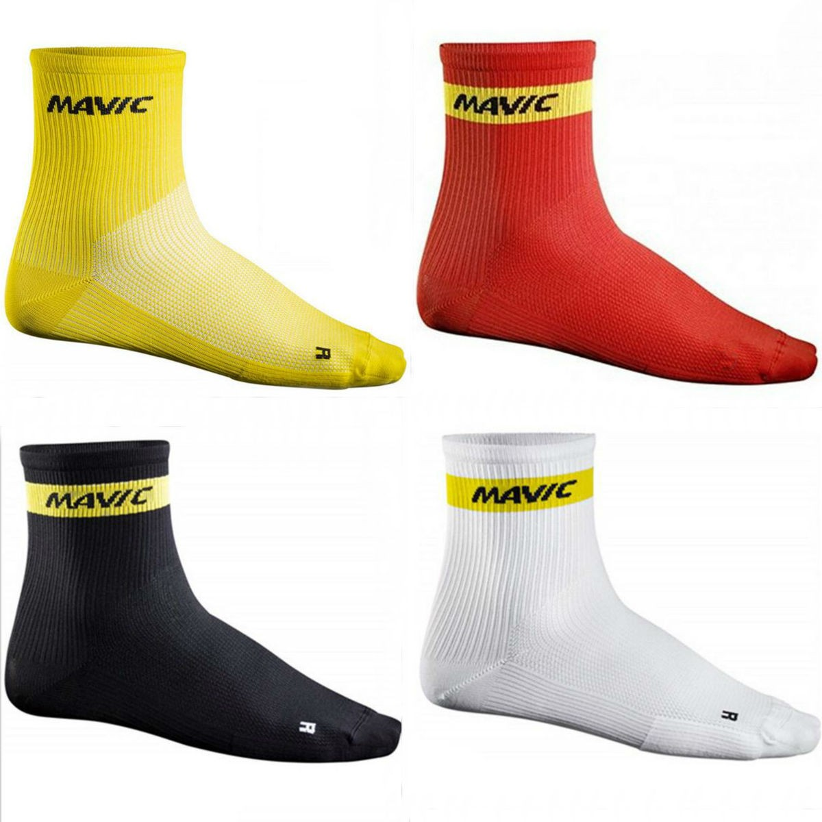 Meias Esportivas MAVIC Para ciclismo Cano Médio