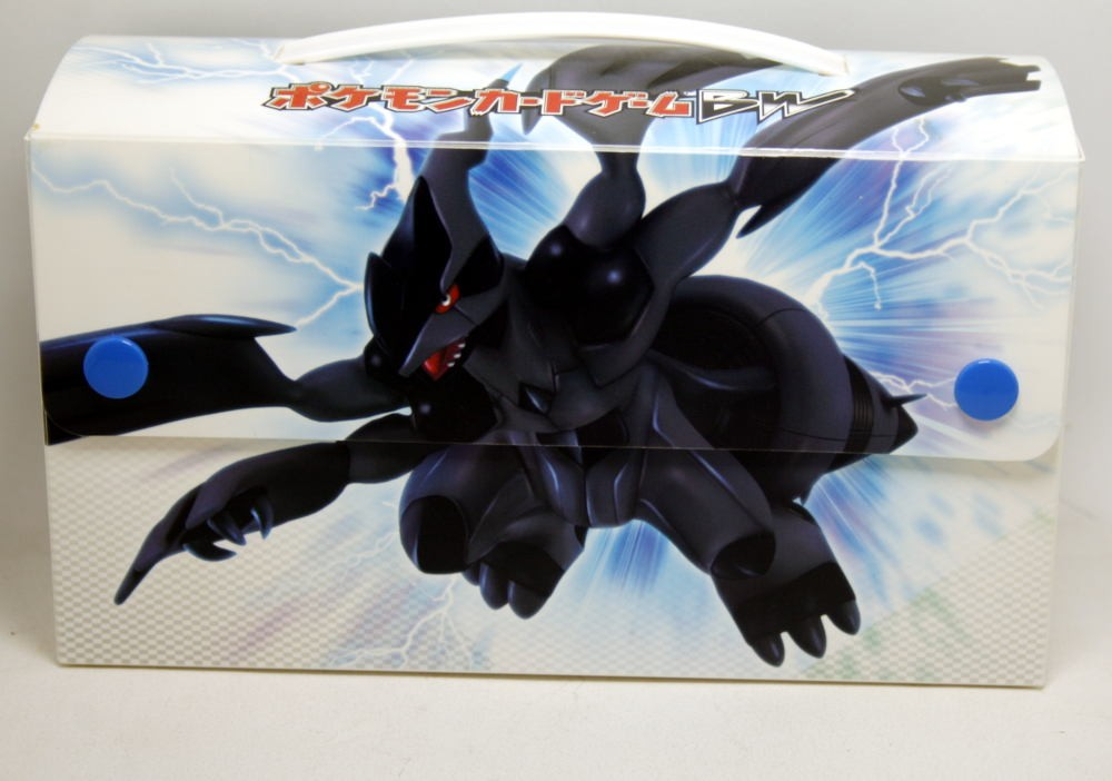 Pokemon Card Game Deck Case Bw Zekrom Imp. Do Japão