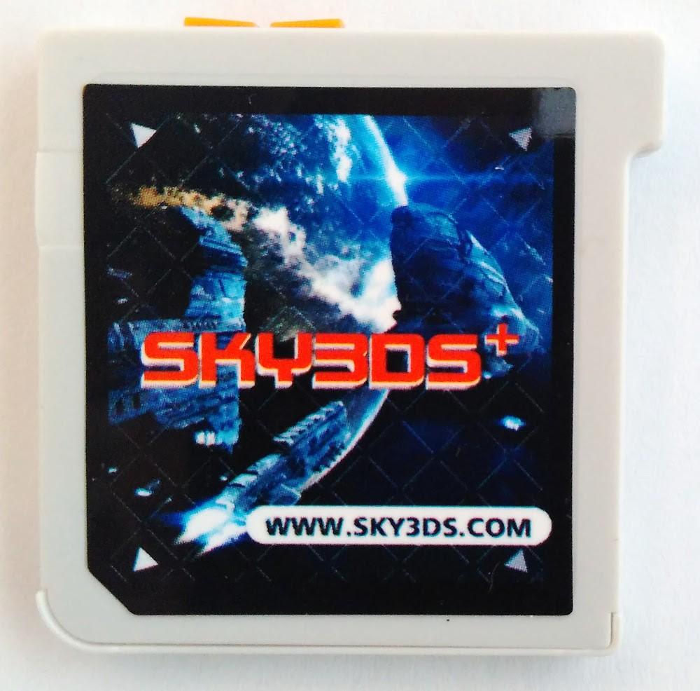 Sky3ds Plus botão laranja Nova Versão Atualizável 11.6.0-39