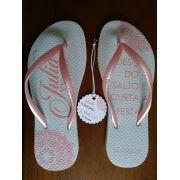 Chinelo feminino slim personalizado + vale conforto - 100 pares (FRETE GRÁTIS PARA MG/RJ/SP)