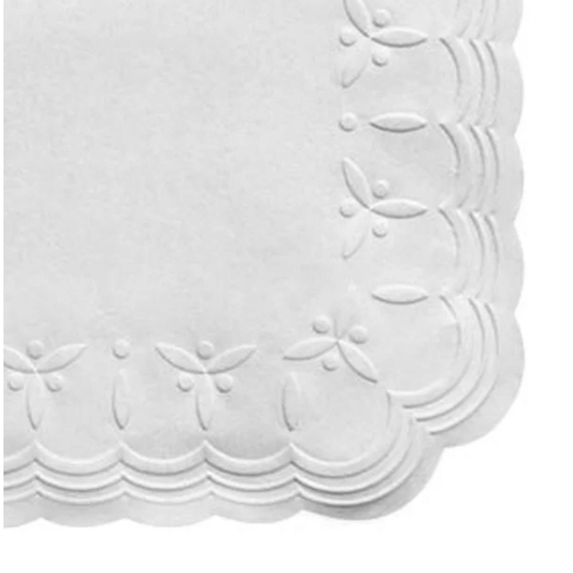 Guardanapo papel coquetel branco Trevo 20x20 - 100 unid  - Persona Guardanapos & Cia