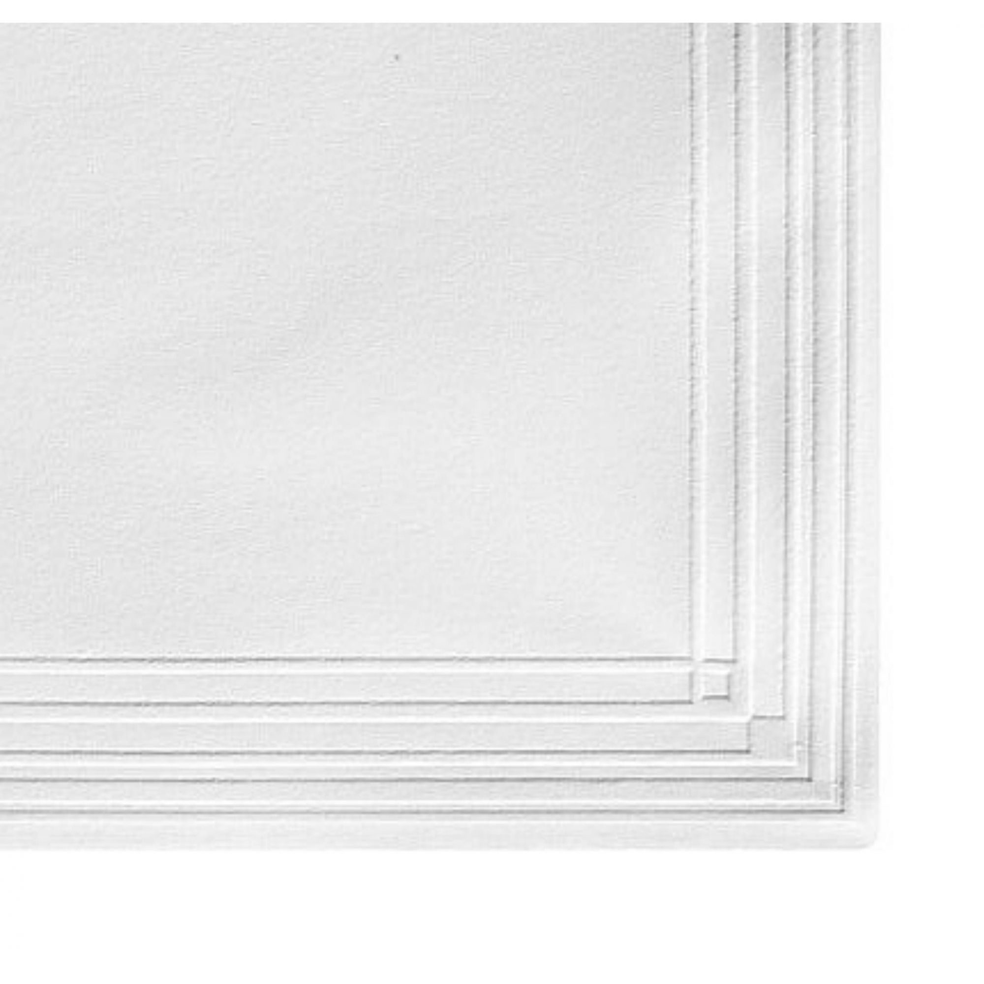 Guardanapo papel branco liso/Clássico 24x24 - 100 unid  - Persona Guardanapos & Cia