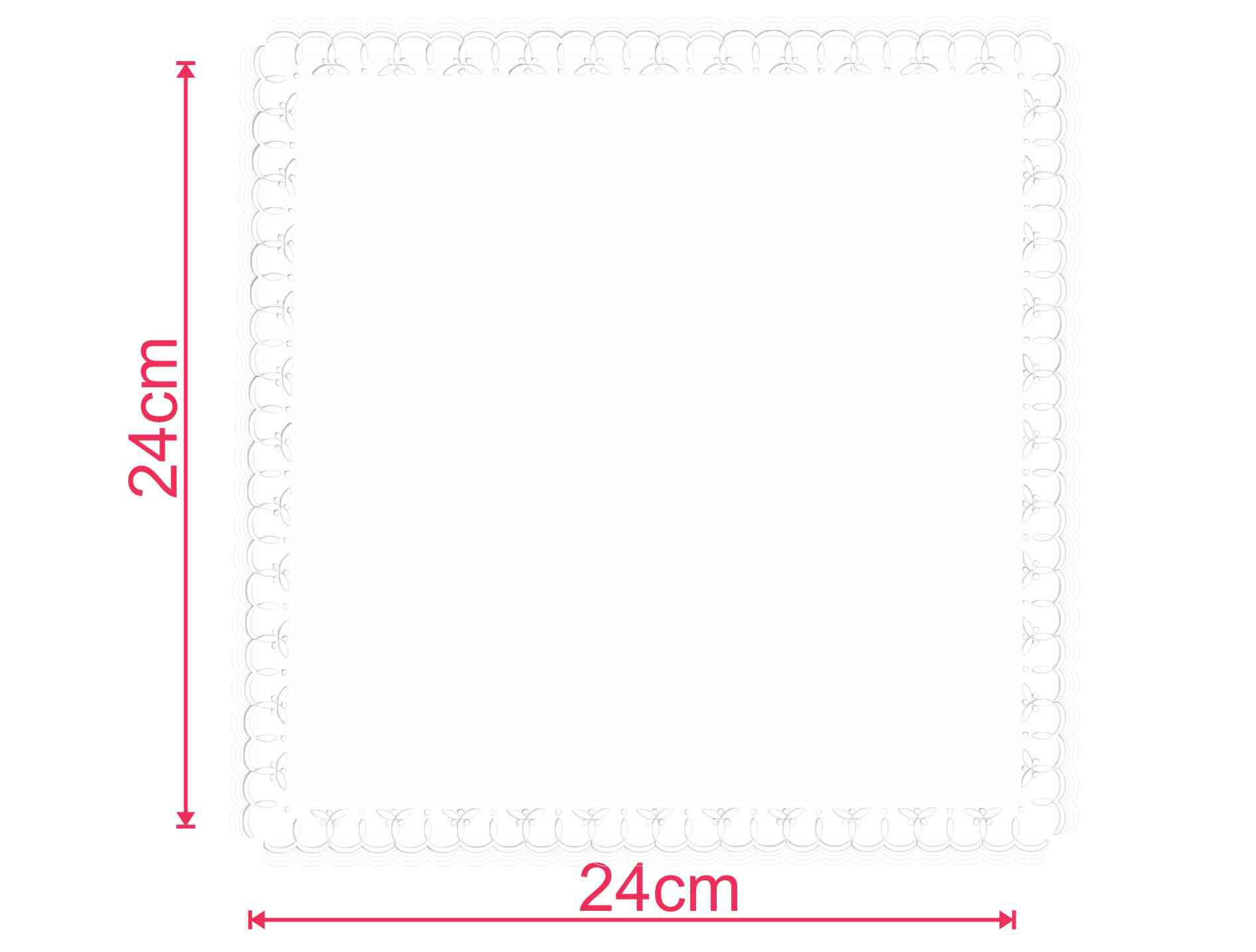 Guardanapo de papel mod. Trevo 24x24 cm - Personalizado - 100 unidades  - Persona Guardanapos & Cia