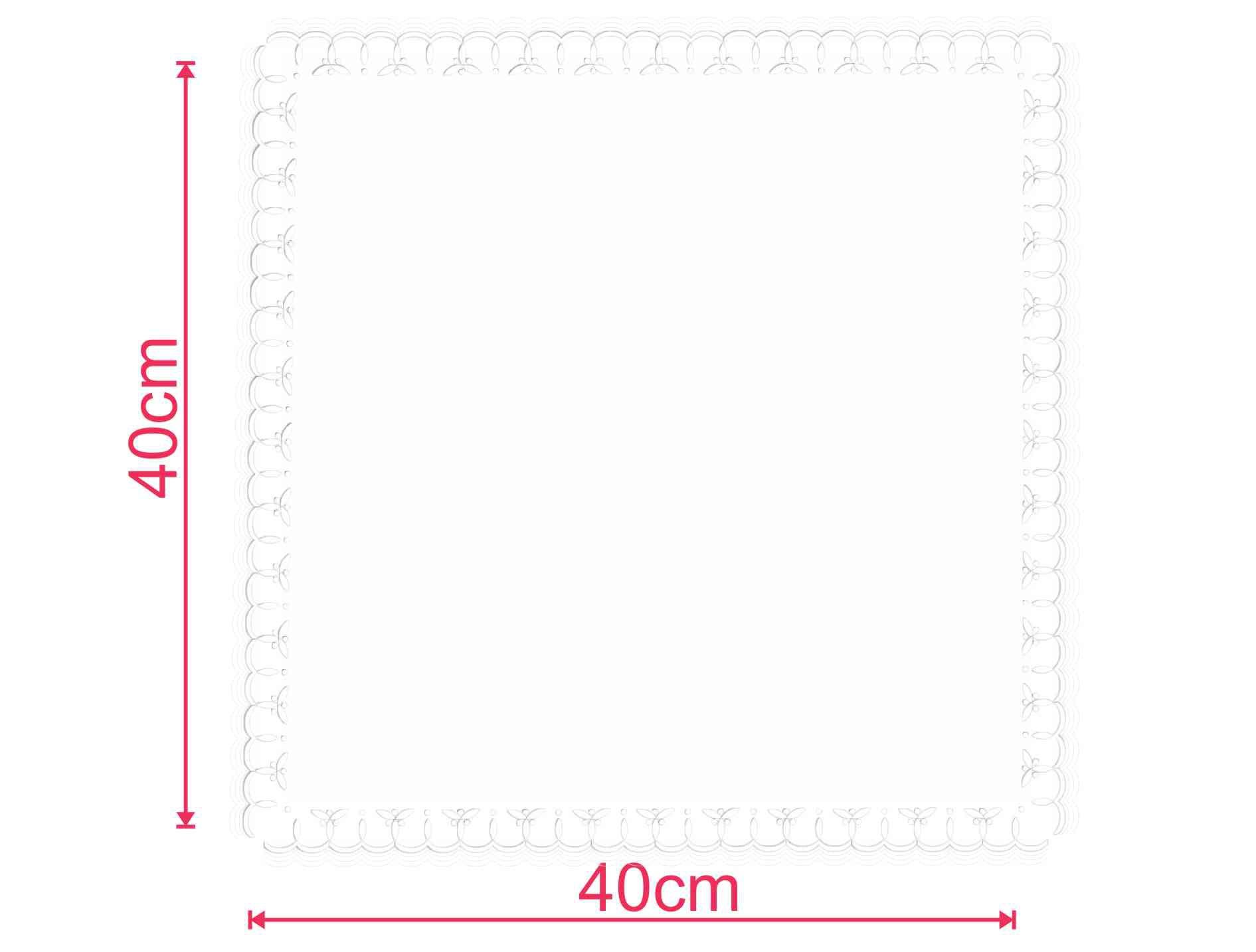Guardanapo de papel mod. Trevo 40x40 cm - Personalizado - 100 unidades  - Persona Guardanapos & Cia