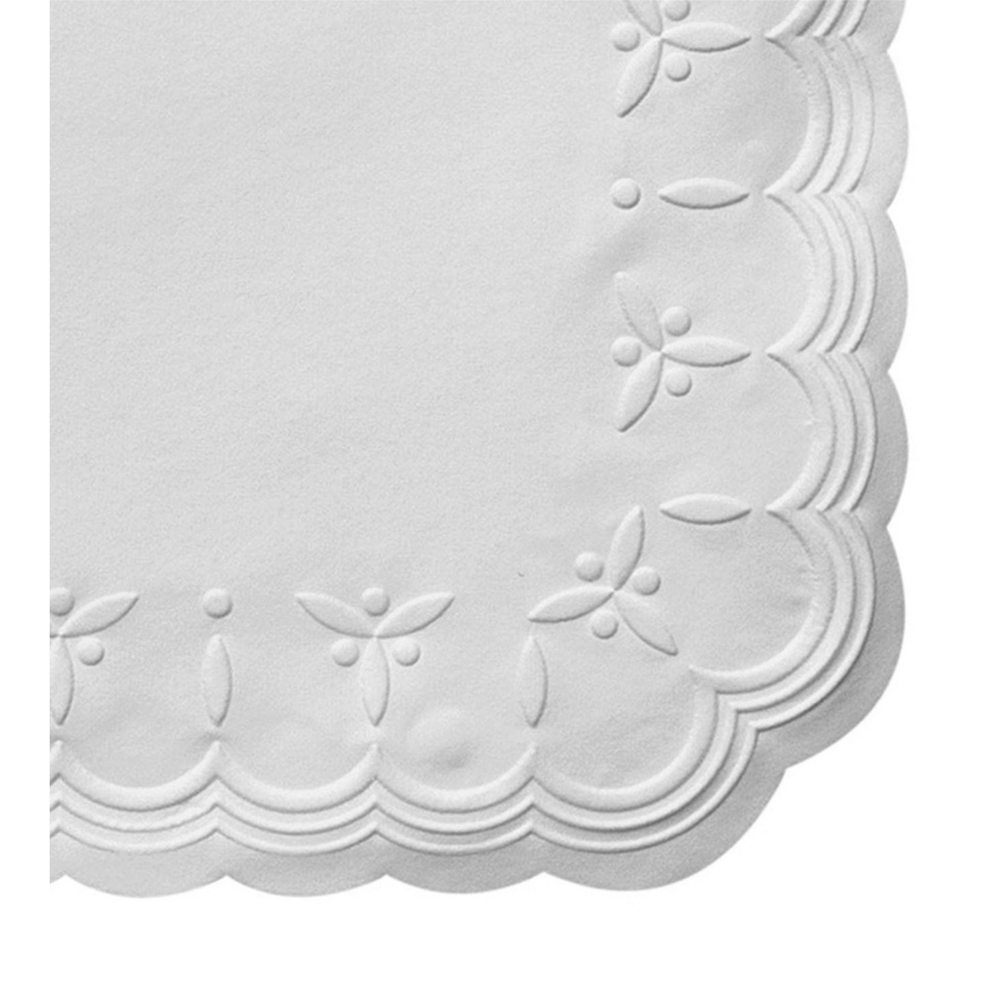 Guardanapo papel jantar master branco Trevo 40x40 - 100 unid  - Persona Guardanapos & Cia