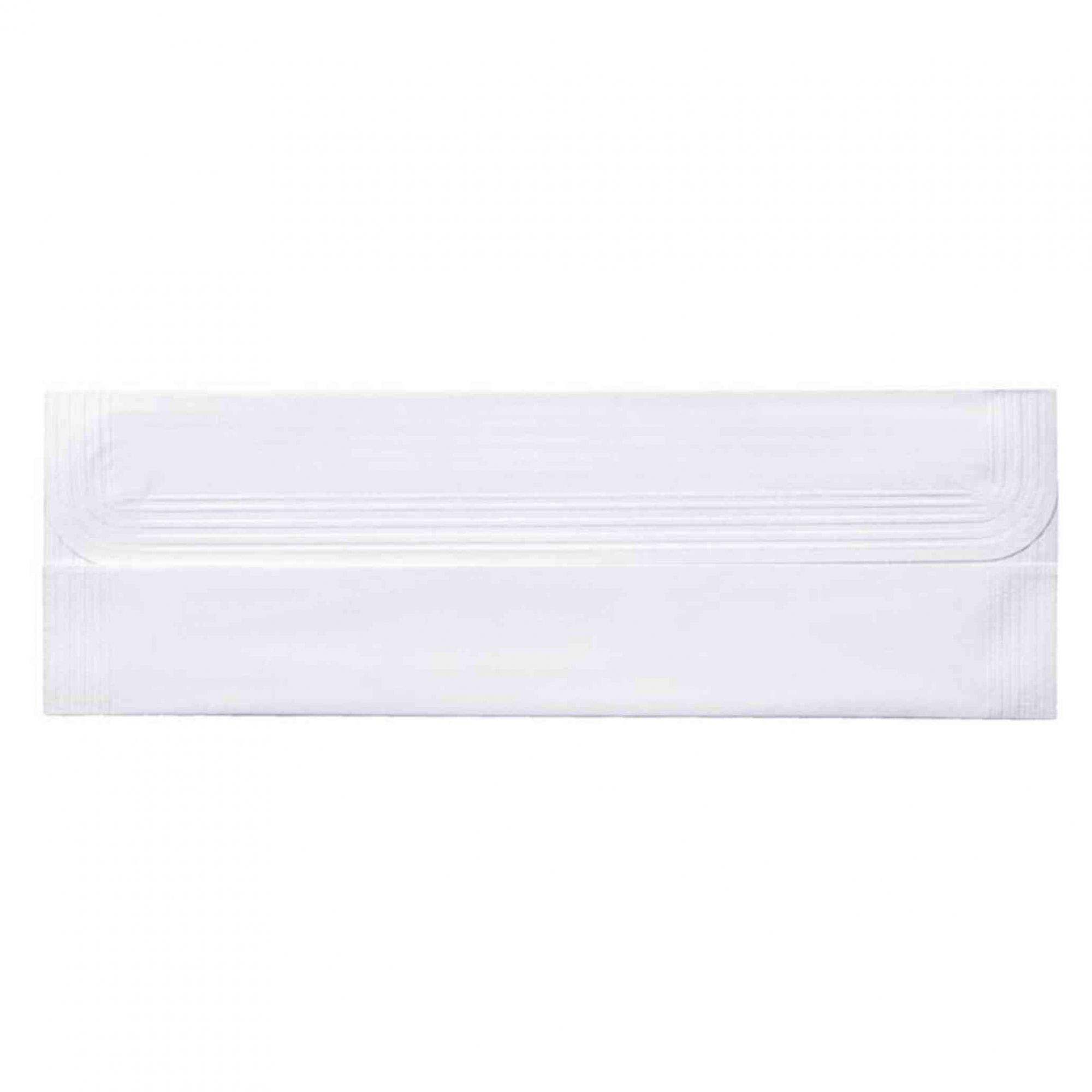 Toalha papel para lavabo  28x25 cm branca / Clássico - Sem personalizar - 100 unidades  - Persona Guardanapos & Cia