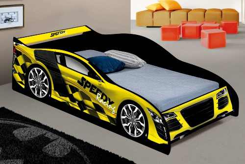 Mini Cama Infantil Speed Racing