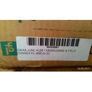 CAIXA JUNC AL 6S 110X80X225MM Q FIELD CONNEX F2-JBSC-8 CG