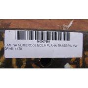 LAMINA NUMERO 02 MOLA PLANA TRASEIRA - VW 2RH511178