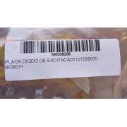 PLACA DIODO DE EXCITACAO 1121099005 - BOSCH