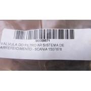 VALVULA DO FILTRO AR SISTEMA DE ARREFEICIMENTO - SCANIA 1507878