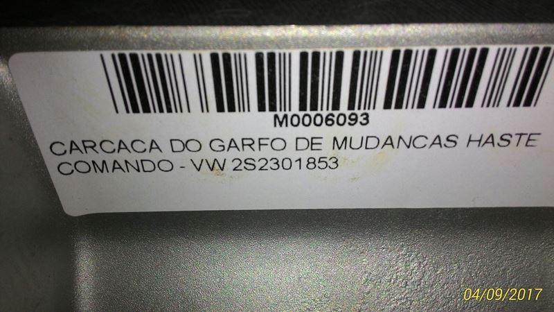 CARCACA DO GARFO DE MUDANCAS HASTE COMANDO - VW 2S2301853