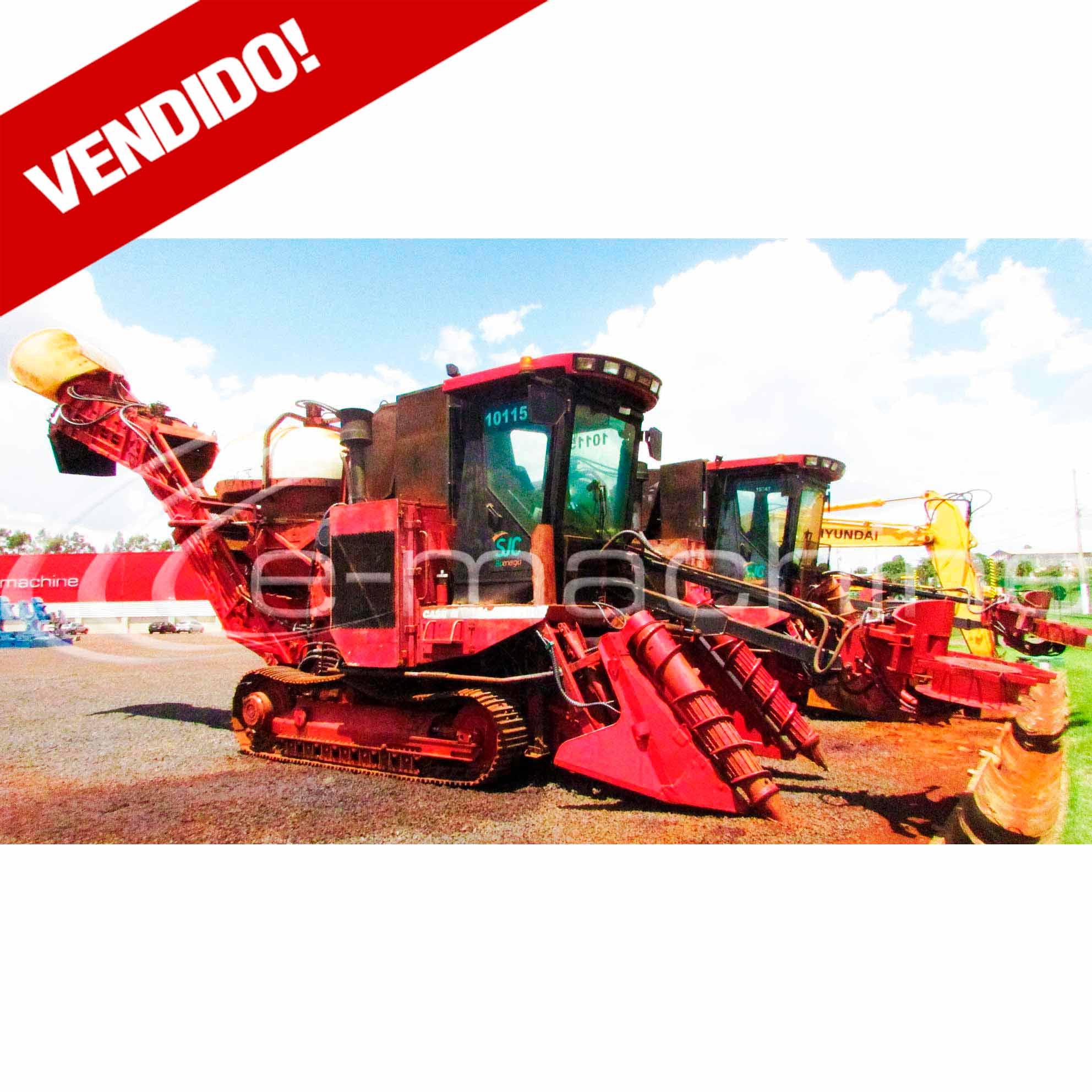 COLHEDORA DE CANA CASE 7700 ANO 2005 7700TR00135