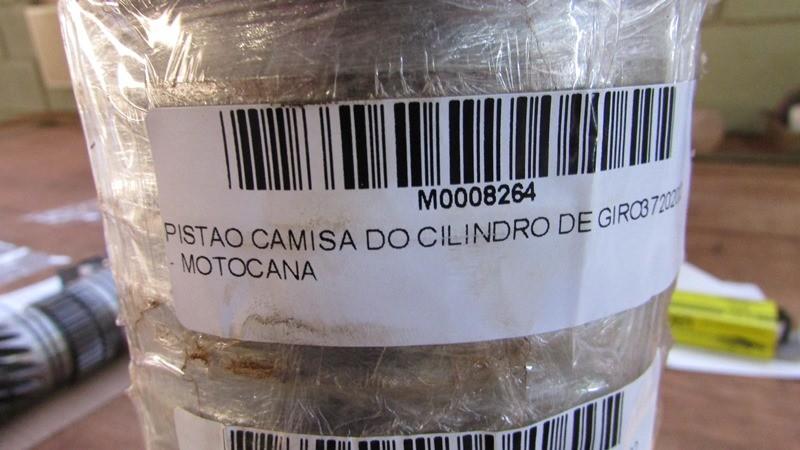 PISTAO CAMISA DO CILINDRO DE GIRO 37202002 - MOTOCANA