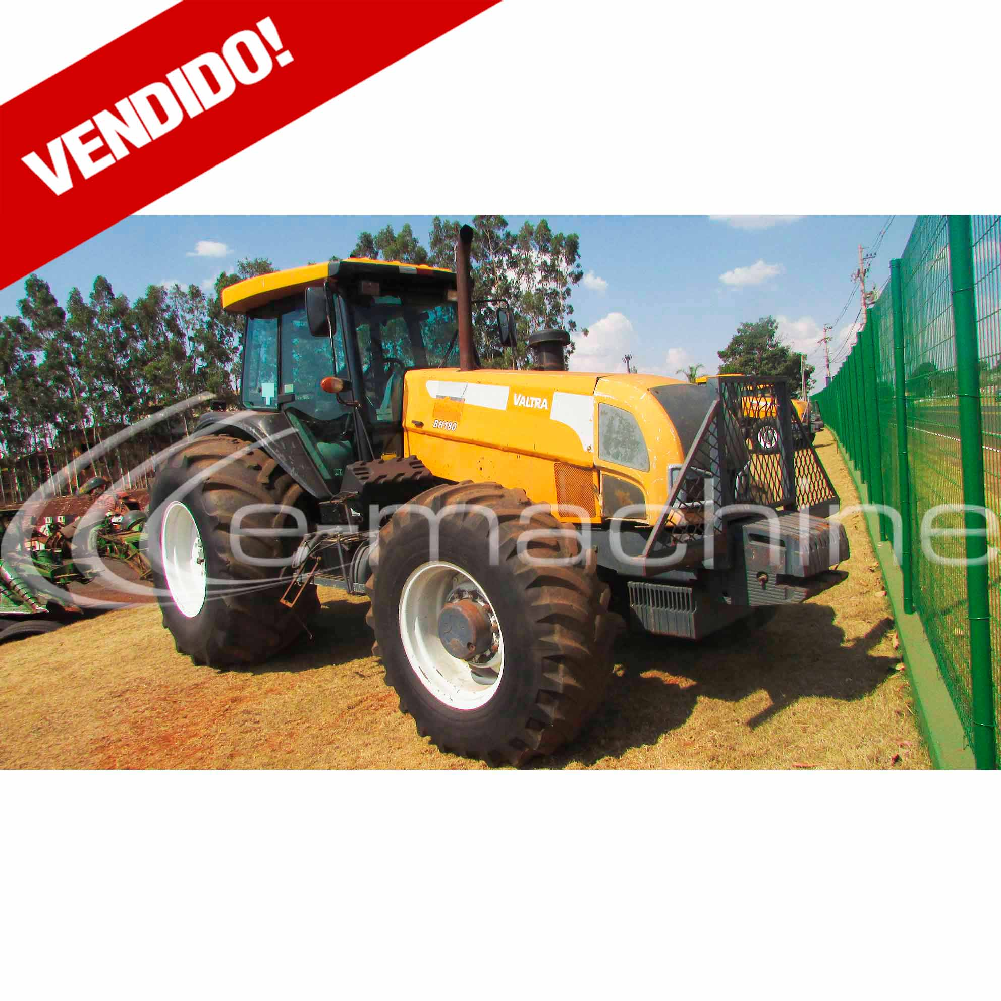 TRATOR VALTRA BH180 ANO 2009 MOTOR EV81550