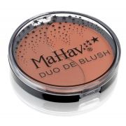 Duo de Blush Mahav - Cor - Cappuccino/Cookie