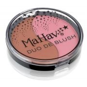 Duo de Blush Mahav - Cor - Cookie/Pêssego