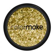Glitter Filete Cor Dourado Holográfico