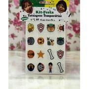 Tatuagens Temporárias 32 pçs - Patrulha Canina