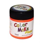 Tinta Líquida Laranja Flúor 15ml Color Make