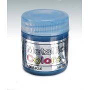 Tinta Liquida Metálica Azul 15ml Rostinho