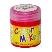 Tinta Líquida vermelha 15ml Color Make