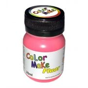 Tinta Líquida Vermelho Flúor 25ml Color Make