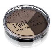 Trio de Sombras Mahav - Cor -Bege/ Nude/Café