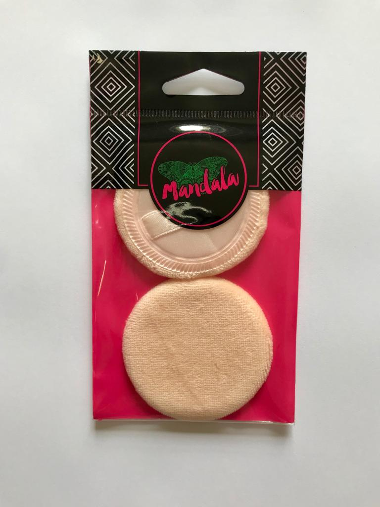 2 Esponjas para Pó (Mandala)