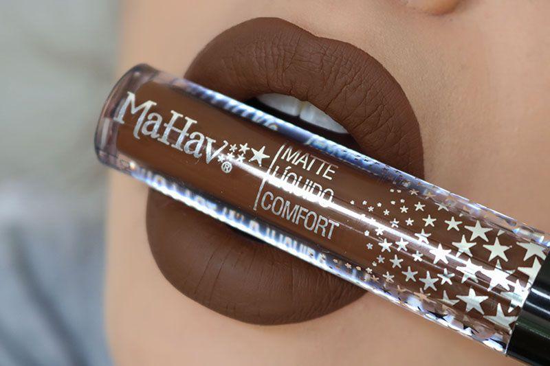 Batom Matte Líquido Comfort - Cor Chocolate
