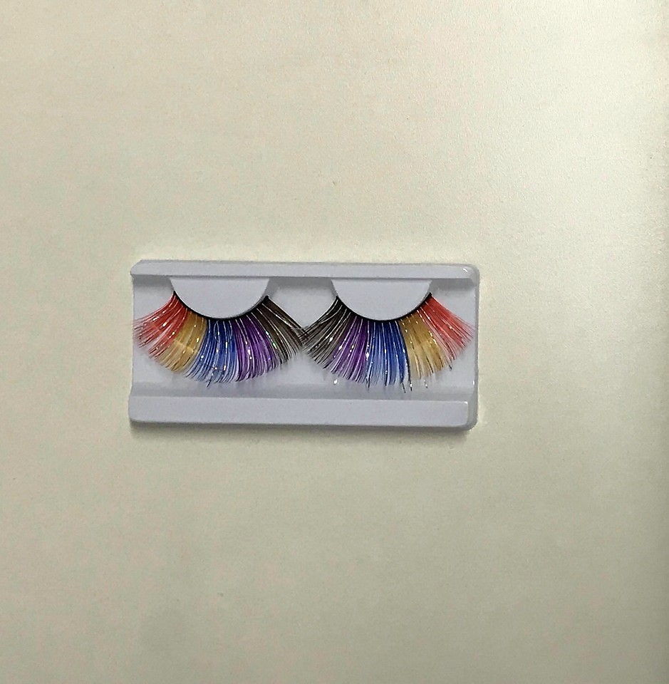 Cílios Postiços Artístico Colorido