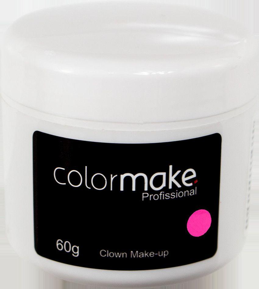 Clown Makeup Color Make Rosa 60 GRAMAS