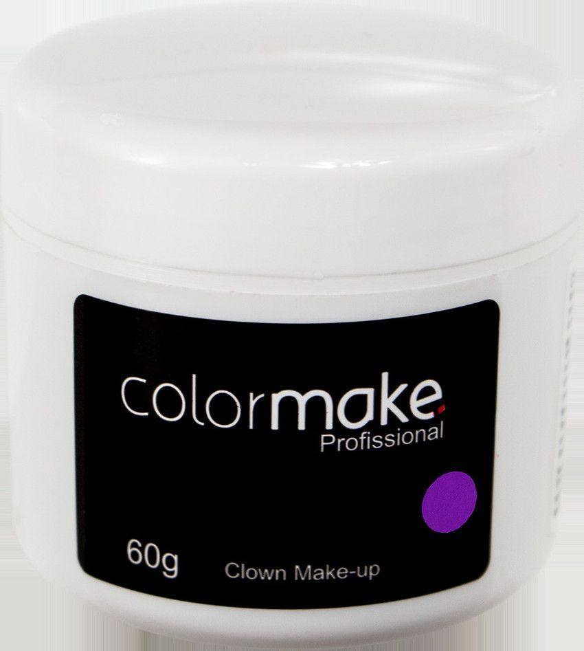 Clown Makeup Color Make Roxo 60 GRAMAS