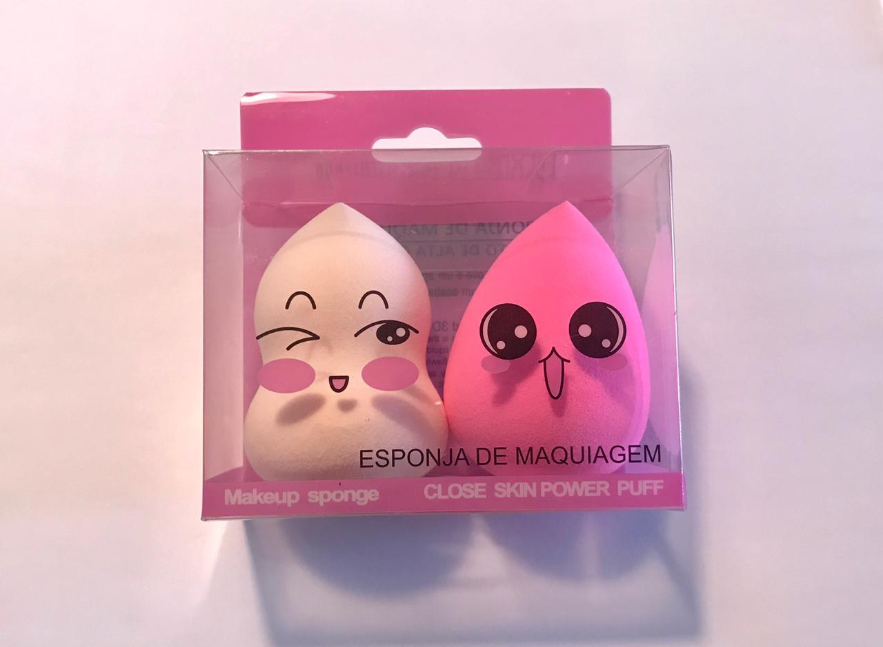 Esponjas De Maquiagem com 2 Formatos