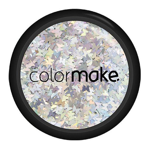 Glitter Borboleta Holográfico Colormake 2g
